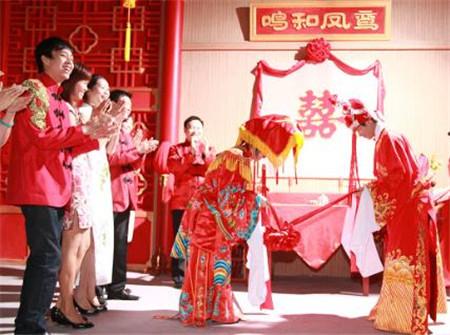 大陸訂婚、結婚儀式